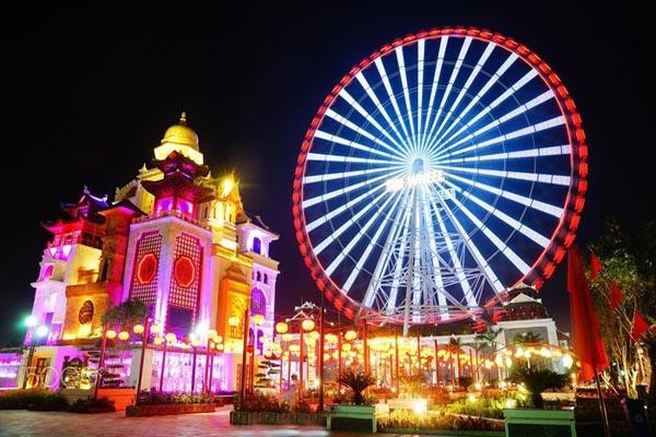 Giá vé vui chơi Vòng quay Mặt trời Sun Wheel ở Đà Nẵng Mới Nhất 2021 | Viet Fun Travel