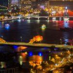 Du lịch Đà Nẵng: Cầu Rồng phun lửa lúc mấy giờ?