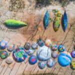 Mùa hè ở làng bích họa Tam Thanh